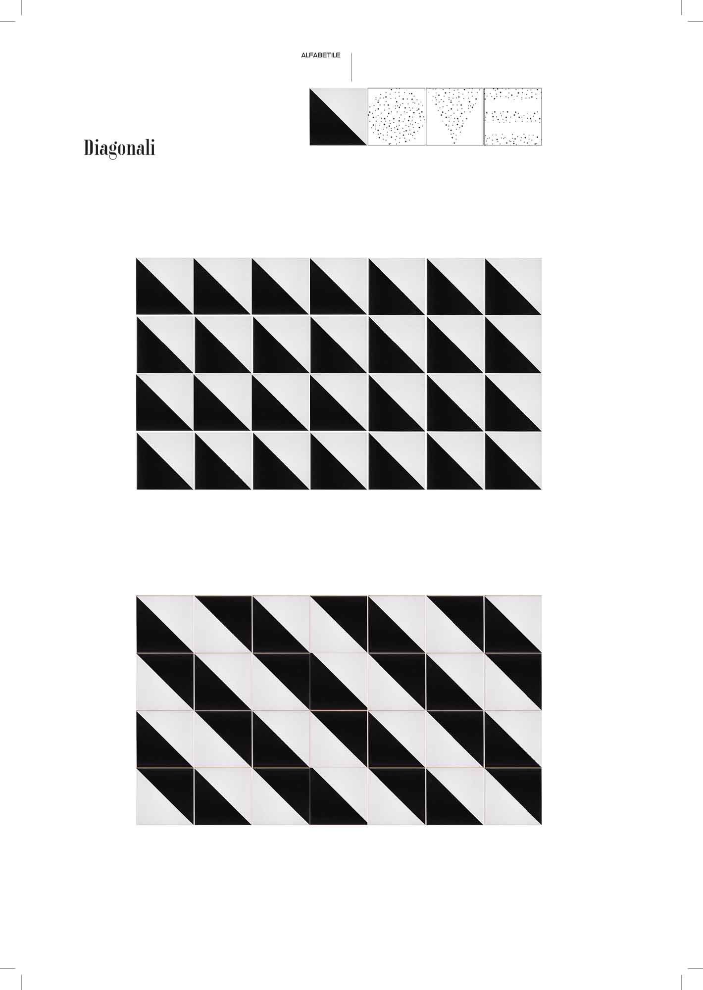 love alfabetile diagonali